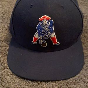 Patriots fitted hat